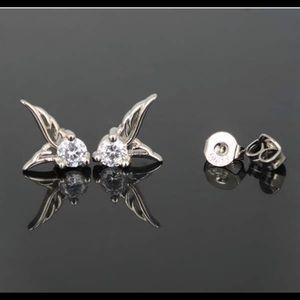 Jewelry - Angel Wing Stud Earrings